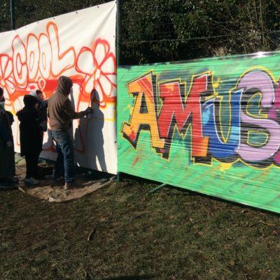 Atelier graffiti